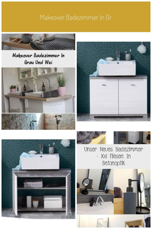 Makeover Badezimmer In Grau Und Weiss Ikea Badezimmerschrank