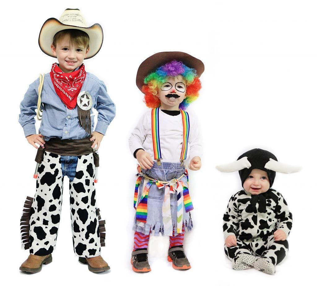 Cowboy rodeo clown u0026 bull costumes  sc 1 st  Pinterest & Halloween Recap 2014 | Rodeo Costumes and Halloween costumes