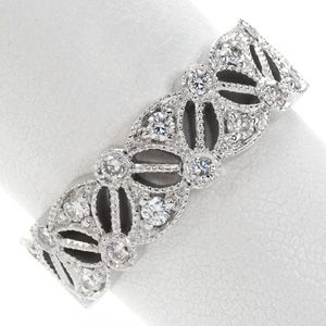 Las Estrellas By Knox Jewelers Is A Unique Band That Could Be Worn As Either Wedding Or Right Hand Ring Heirloomband Milgrain