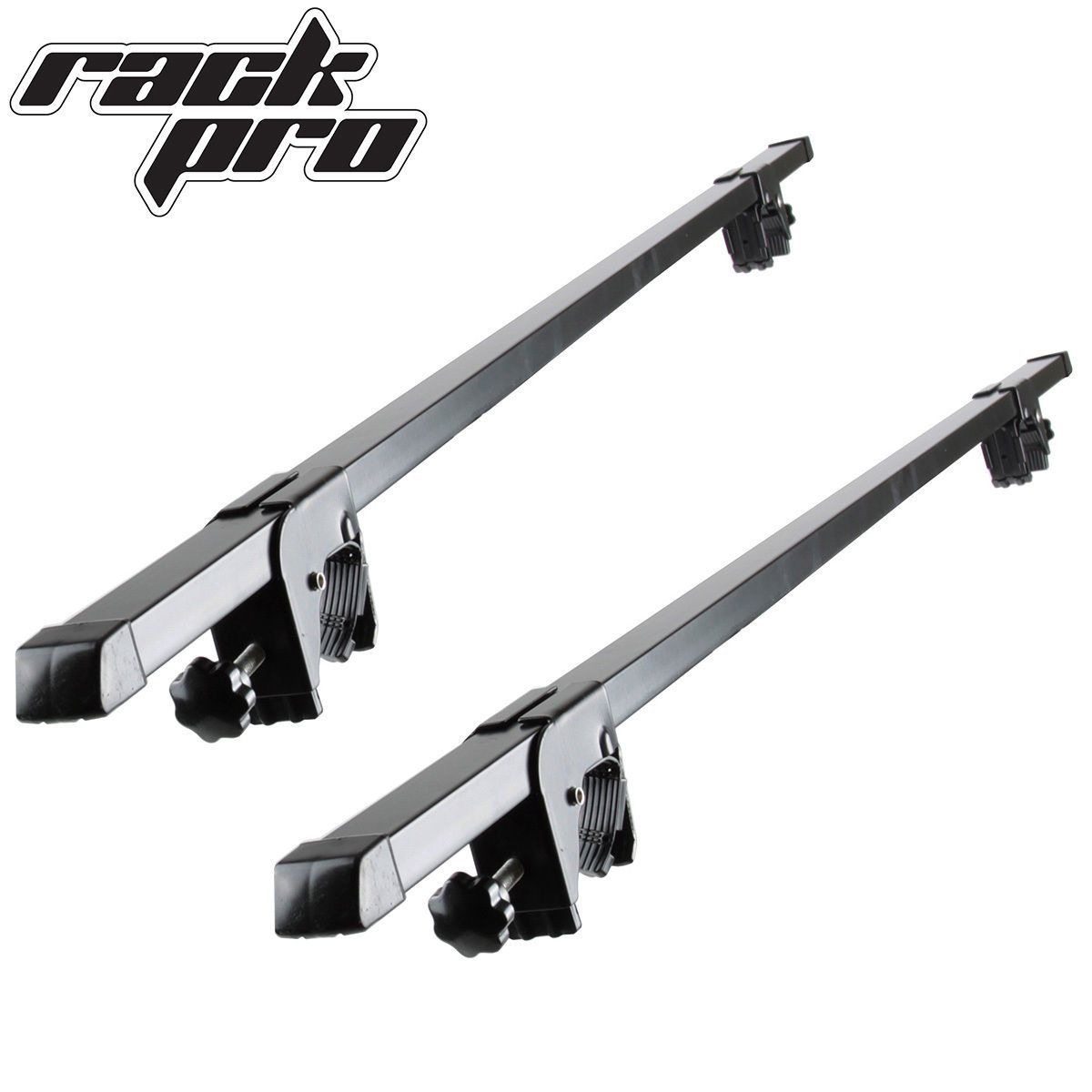 """Details about Universal Silver 49"""" Square Roof Rack Cross"""