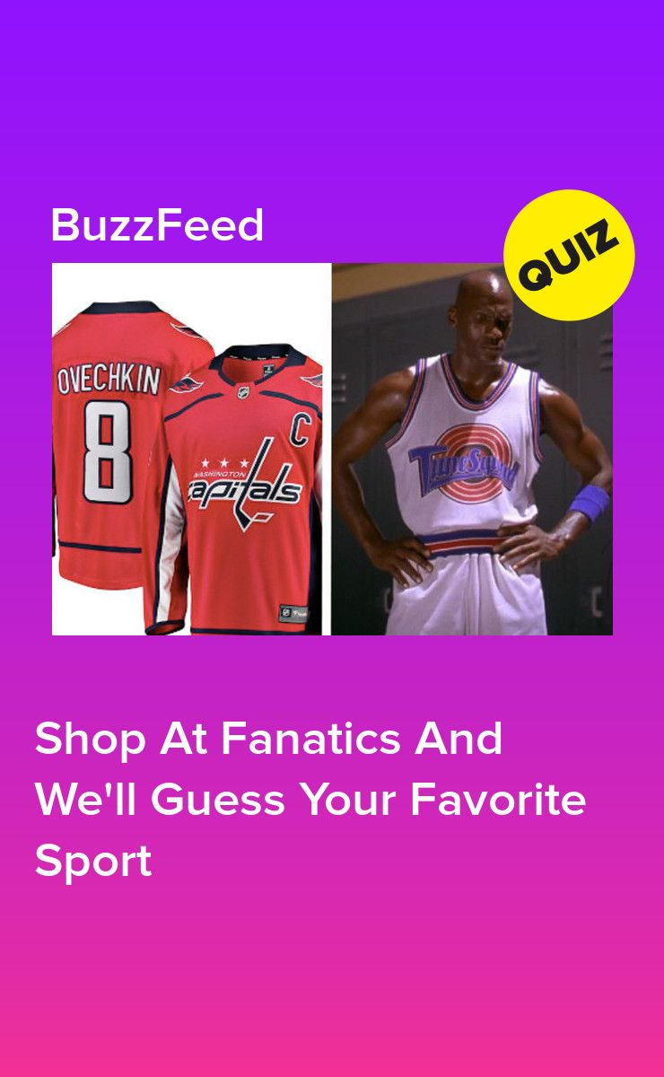 Shop At Fanatics And We Ll Guess Your Favorite Sport Sports Quiz Sports Trivia Quizzes