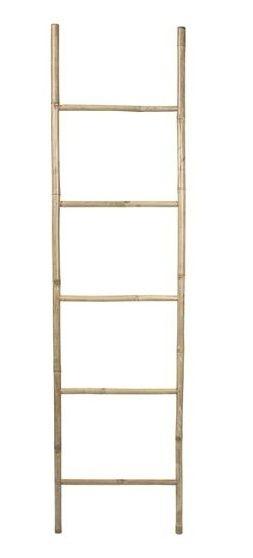 Handdoekenrek ladder bamboe | Badkamer accessoires | House-Dressing ...