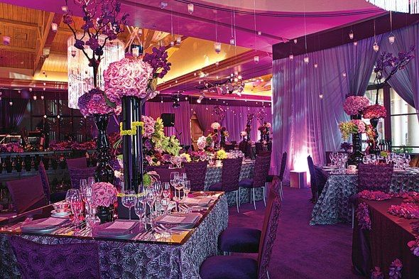 monochromatic decor #purple