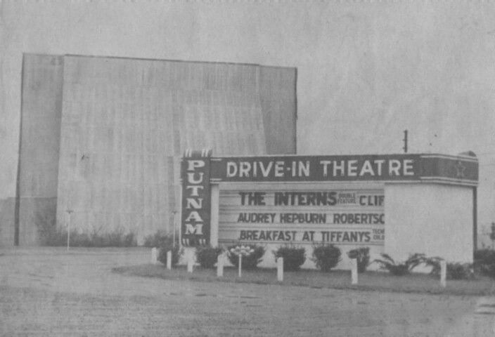 Putnam Drive In Cookeville Tn Circa 1961 Drive In Theater Cookeville Cookeville Tennessee