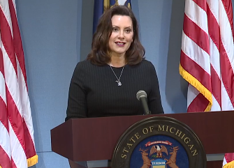 Michigan Gov Gretchen Whitmer No Full Stadiums In 2020 Emergency Power Michigan National Doctors Day