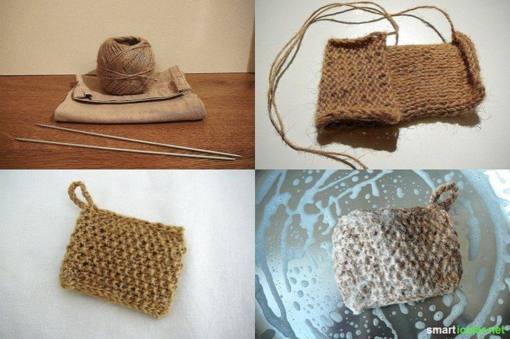 Photo of Kitchen sponge made of parcel cord – ecological alternative to do it yourself – #al …
