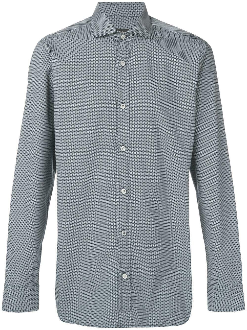 a351c6bfe Z ZEGNA Z ZEGNA PLAIN BUTTON SHIRT - BLUE. #zzegna #cloth | Z Zegna ...