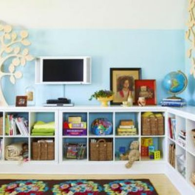 How To Create A Tv Gallery Wall Playroom Organization Toy Rooms Kids Playroom