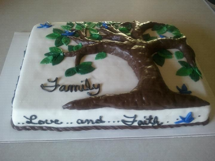 Family Reunion Cake With Images Family Reunion Cakes Cupcake