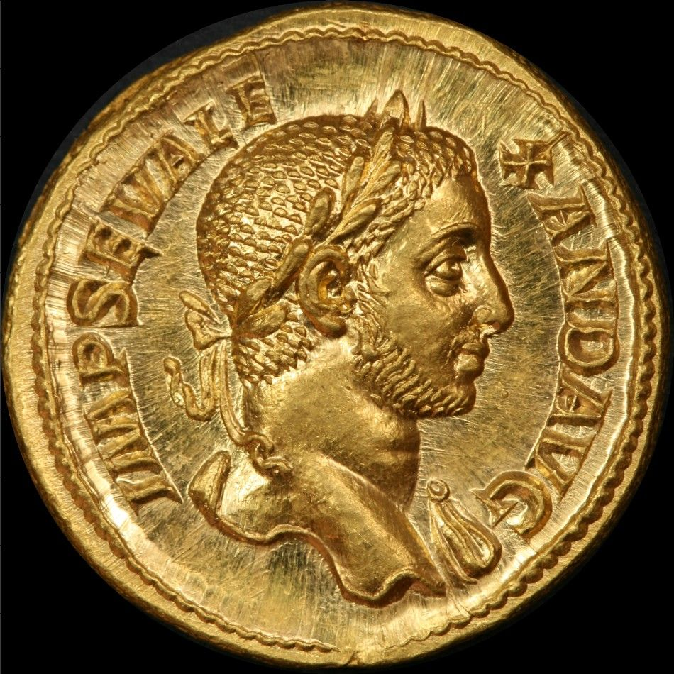 Emperor Severus Alexander, Gold Aureus. (222-235AD