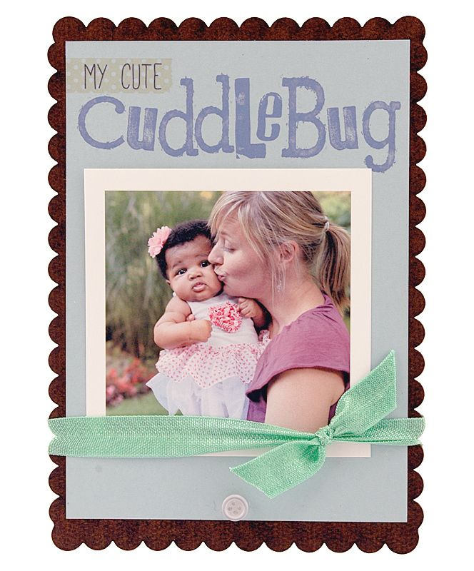 My Cute Cuddle Bug Sweet Scallop Frame | Cute Frame, Instagram Frame ...