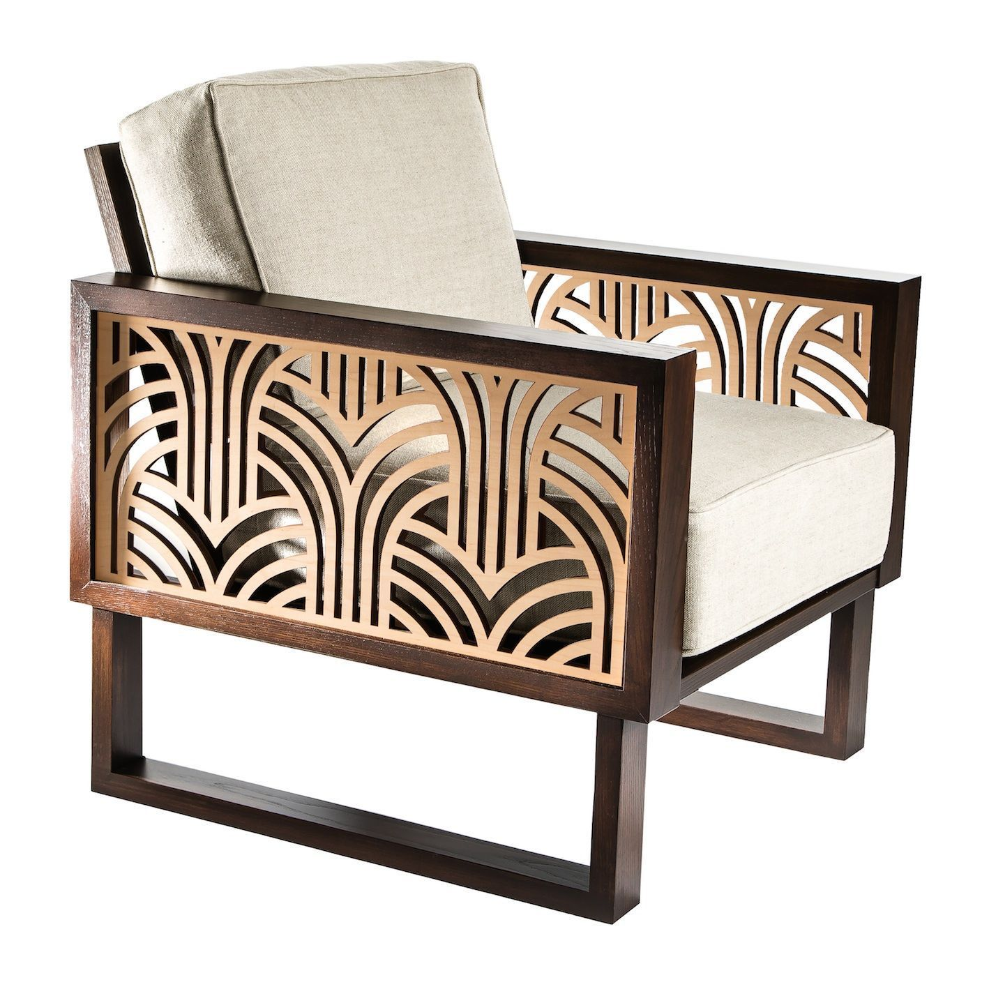 Pleasant A Twist Modern Tribute To The Sleek Elegance Of The Art Deco Bralicious Painted Fabric Chair Ideas Braliciousco