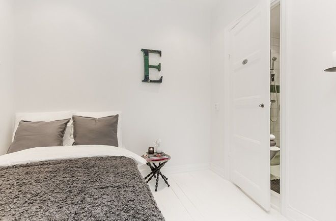 Small simple bedroom