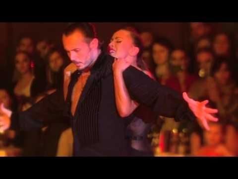 Slavik Kryklyvyy and Karina Smirnoff at Crystal Ball 2016 Saint-Petersbu...