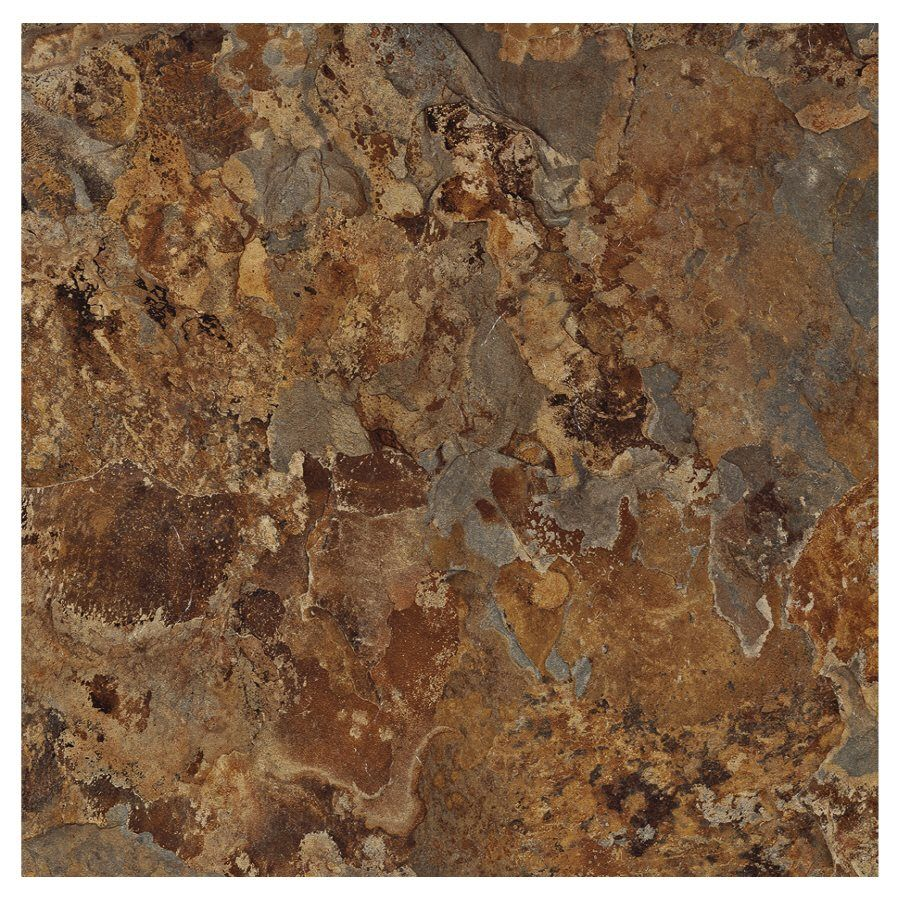Armstrong Terraza 12 In X 12 In Patina Shale Peel And Stick Stone Residential Vinyl Tile Vinyl