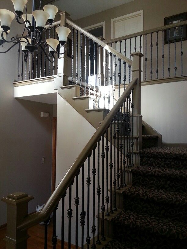 Best Golden Oak Transformation Staircase Remodel Changed 640 x 480