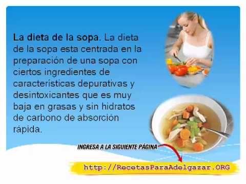 Dieta efectiva para adelgazar barriga
