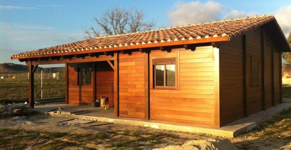 Casas de madera incofusta fabrica de madera en valencia for Casas de madera valencia