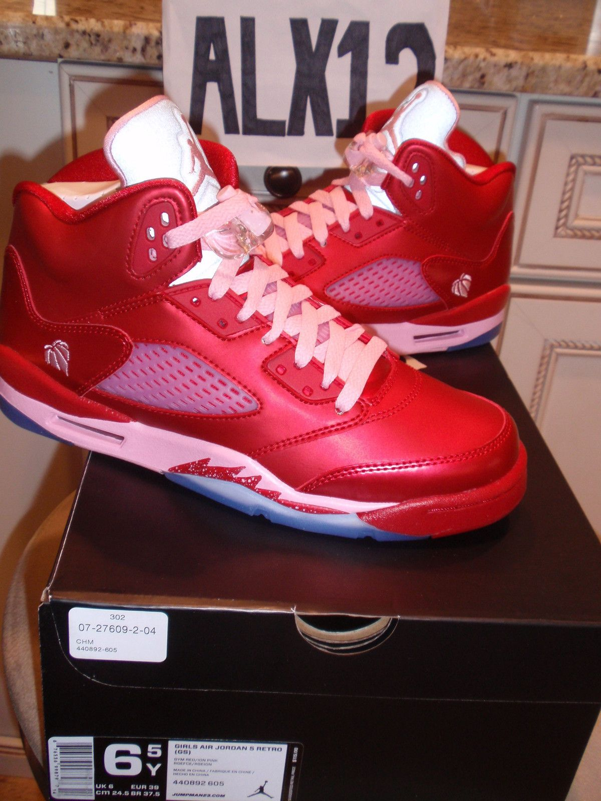 newest collection c9ce1 62890 Nike Air Jordan Retro 5 V Valentines Day sz. 6.5 Youth DS ...