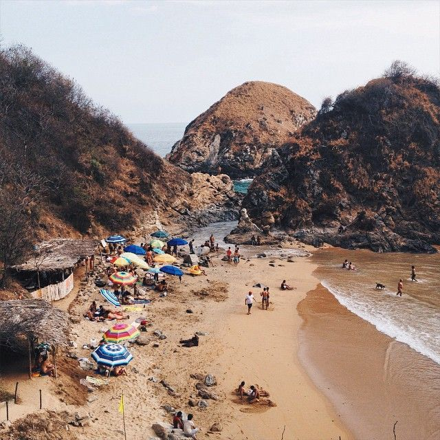 bay and mexico nude beach and banderas