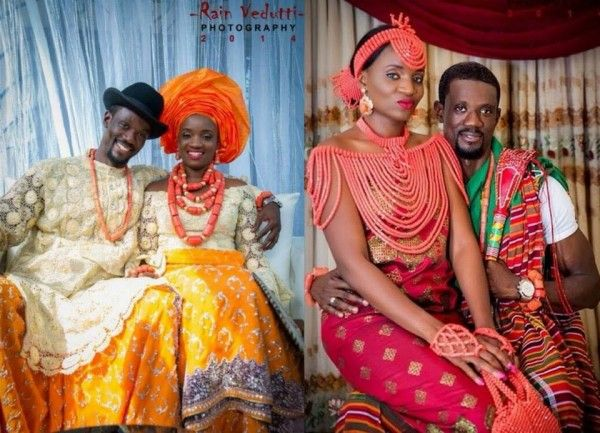 Niger Delta/ Urhobo Traditional Wedding, The Couple ... Nigerian Wedding Traditions And Customs