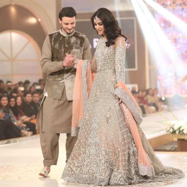 New fashion dress pakistani 2018 marriage