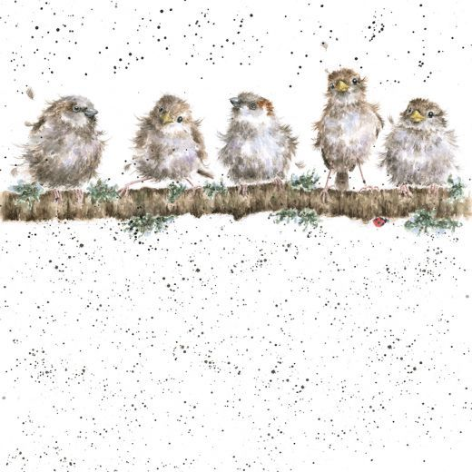 'Chirpy Chaps' card