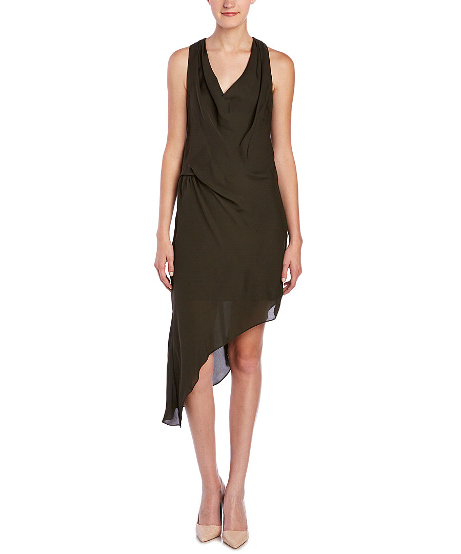 HAUTE HIPPIE Haute Hippie Silk Asymmetrical Side Tuck Dress'. #hautehippie #cloth #day