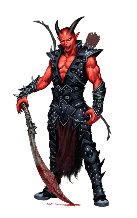 male cambion - pathfinder pfrpg dnd d&d 3.5 5th ed d20 fantasy