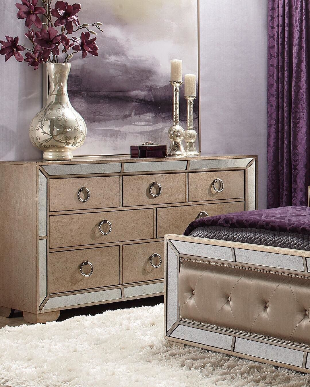 Get To Know The Ava Collection Antique Mirrored Elegance