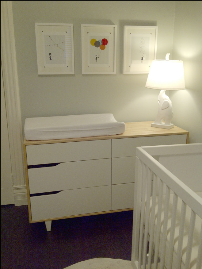 IKEA Mandal Dresser/changing table... use a xresser sd a changing ...
