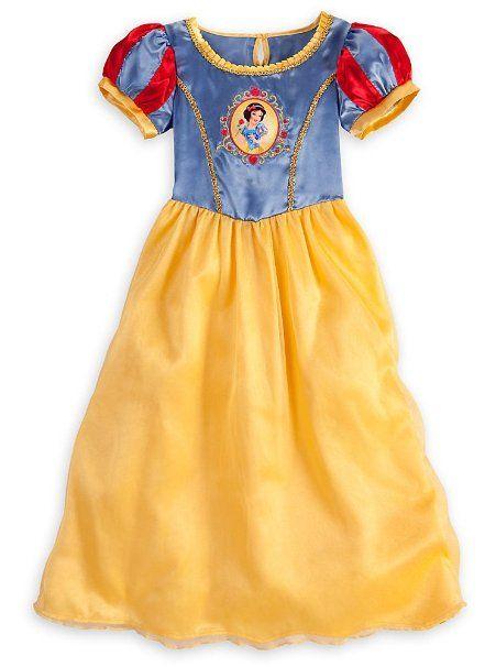 22165f31a Amazon.com  Disney Store Princess Snow White Nightgown Sleepwear ...
