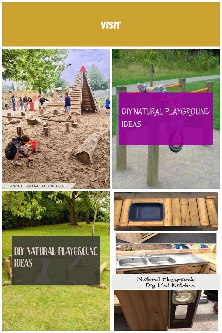Large schoolyard with a sandy field  diy natural playgrounds Large schoolyard with a sandy field  diy natural playgrounds