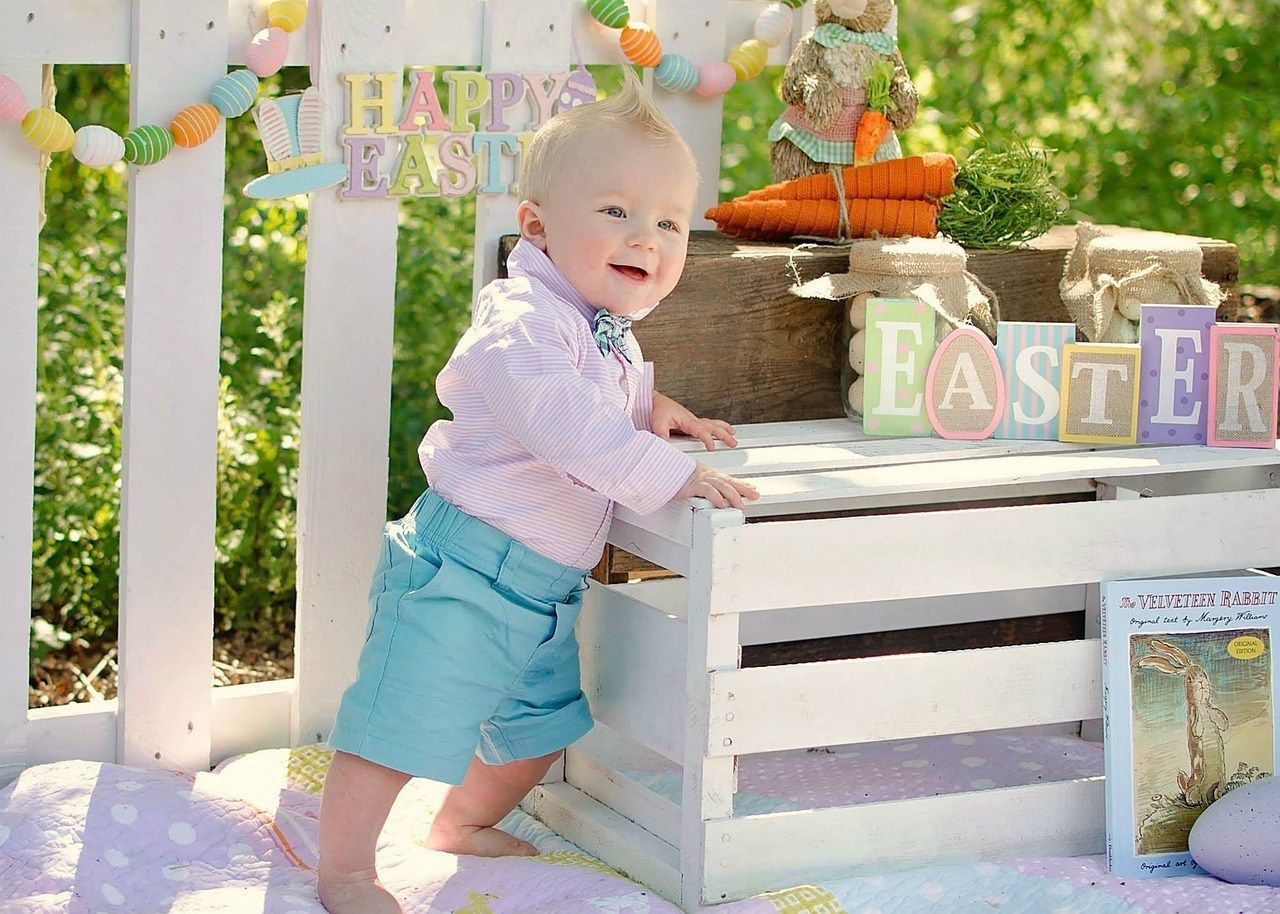 13 ideas for baby's first Easter