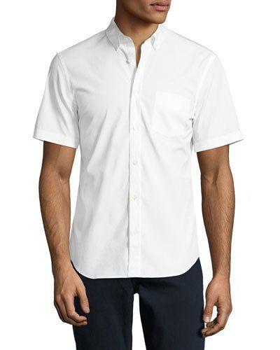 b9269f03fc6e Cambridge Short-Sleeve Stretch-Cotton Shirt