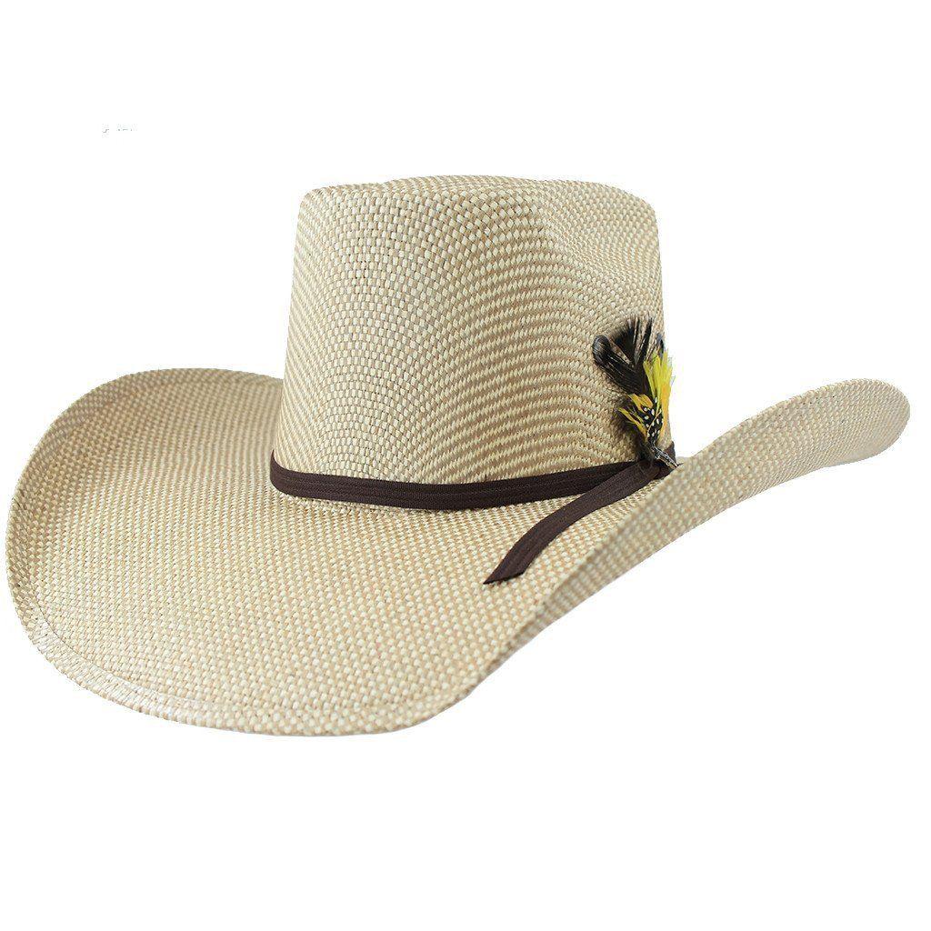 Tombstone Longhorn Cowboy Straw Hat  b47fb441aca