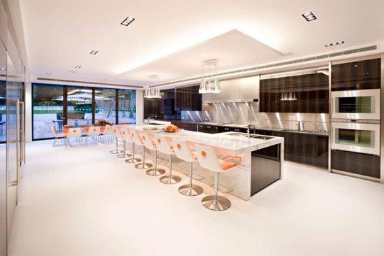 Luxury Kitchen Design In Mansion House Luxury Kitchen Modern