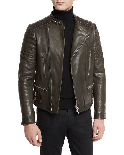 b43cd48d TOM FORD ICON QUILTED LEATHER BIKER JACKET. #tomford #cloth # | Tom ...