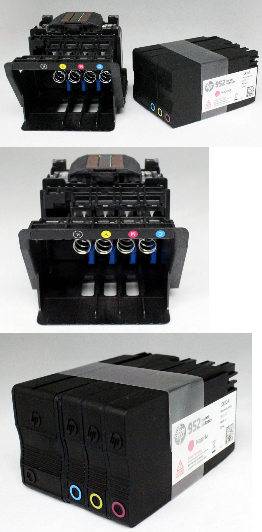 Genuine HP Officejet pro 8710 Printhead with set up cartridge HP 952 Printhead