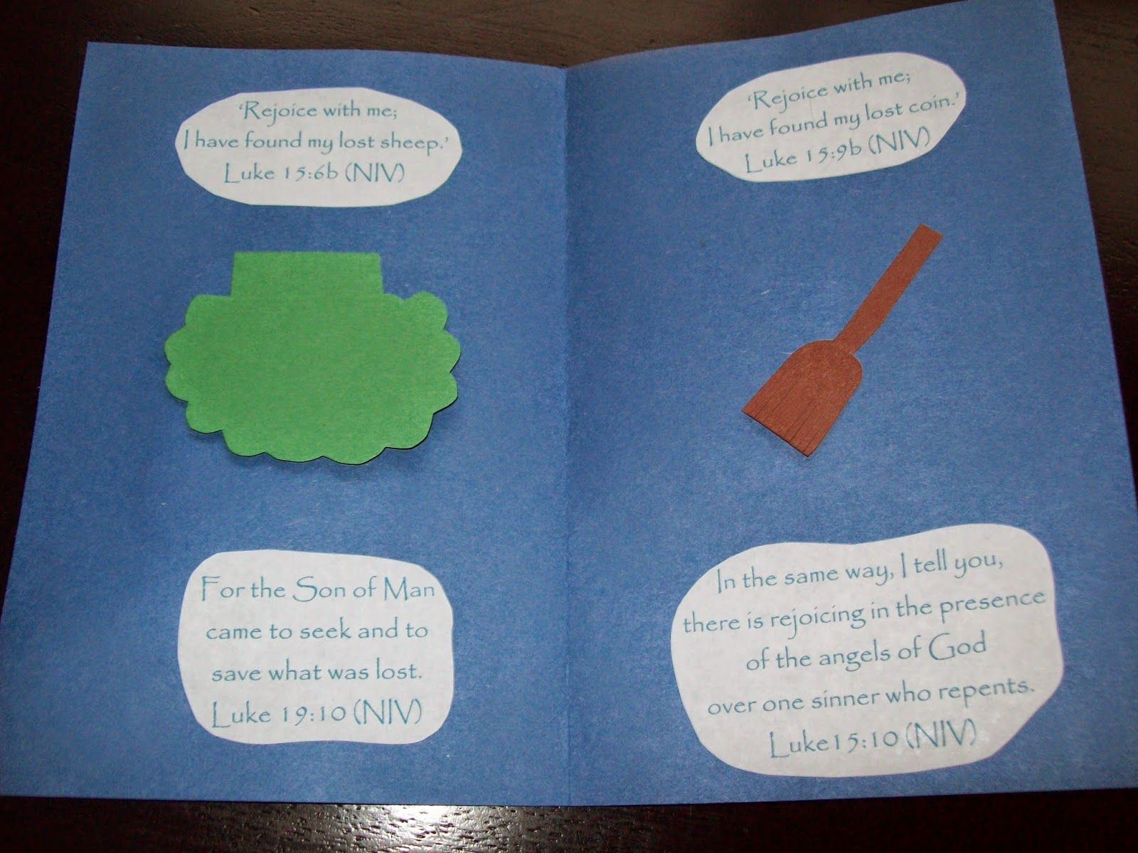 Parable Of The Lost Coin And Lost Sheep Lesson Craft And