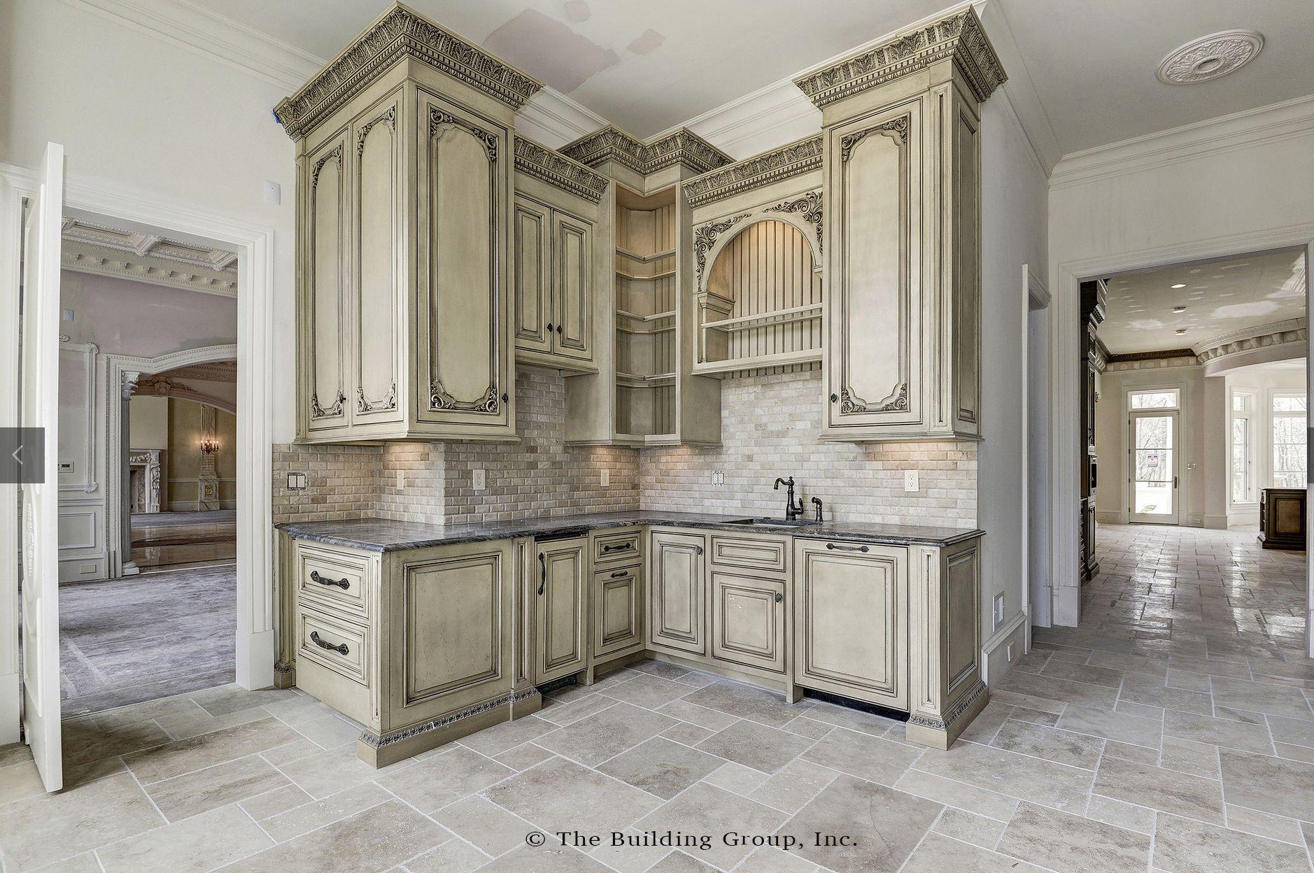 Fully Custom Maple Ridge Cabinetry In 2020 Ornate Kitchen Tuscan Kitchen Farmhouse Kitchen Remodel