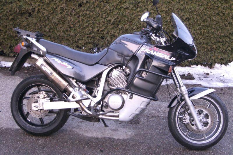 Honda Transalp - jantes 600 CBR, fourche CBR