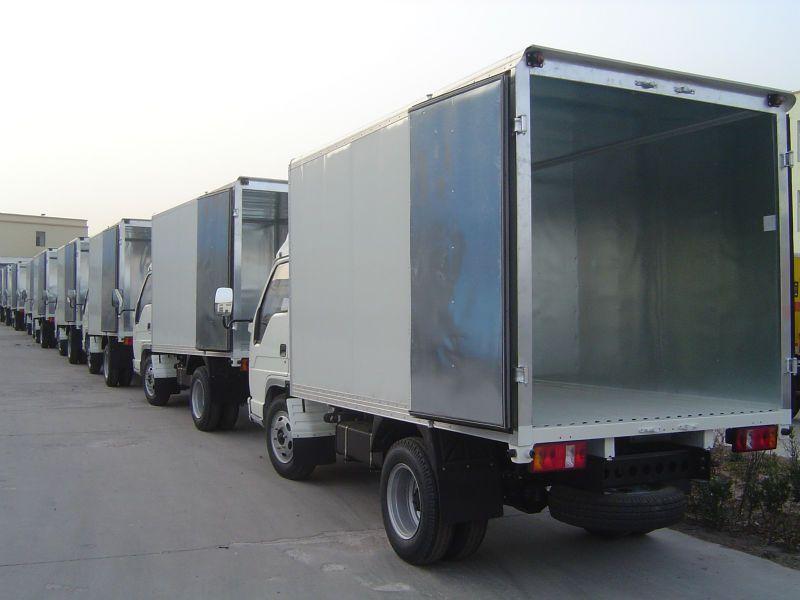 Aluminium Truck Box Truck Panel Body Dry Cargo Van Body