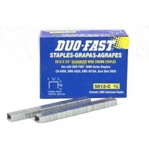 Duo Fast 5012c Staple 3 8 Long Perfect For Upholstery Www Tts