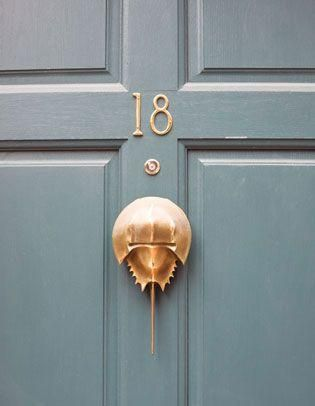 Exceptional Every Beach Loving Home Would Love Any Of These Fun Nautical Door Knobs And  Knockers! 1. The Octopus 2. The Seahorse 3. Horseshoe Crab 4. Anchors 5.