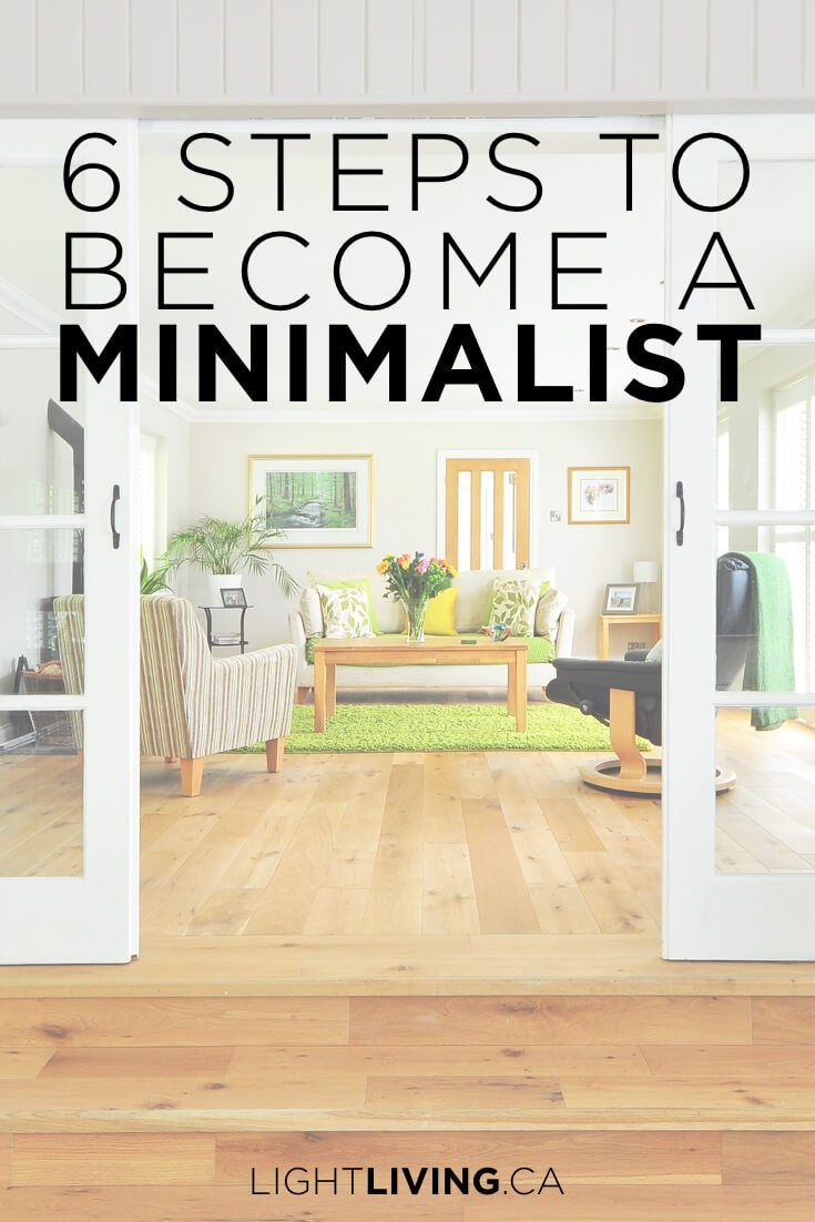 6 Steps to Becoming a Minimalist images