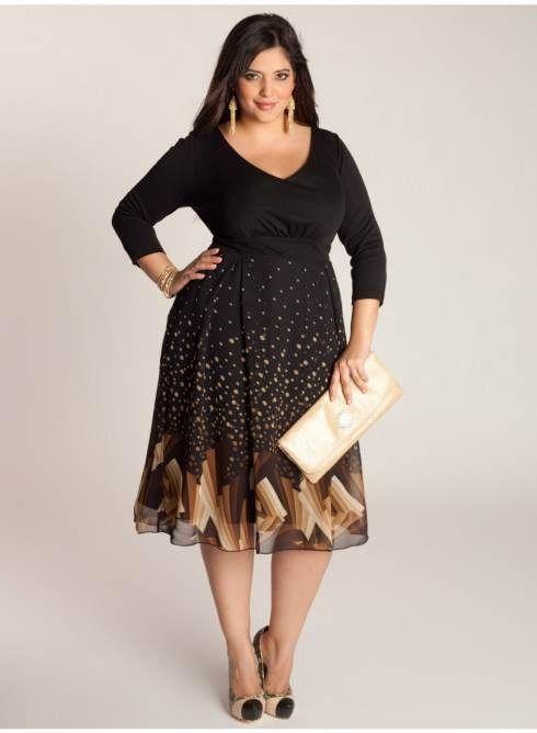 Vestidos favorecedores para mujeres con mucho busto