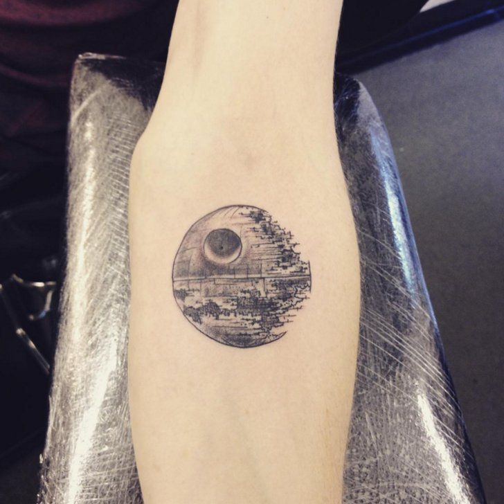 Pin for Later: 36 Star Wars and Outer-Space Tattoos That'll Inspire Your Next Ink!