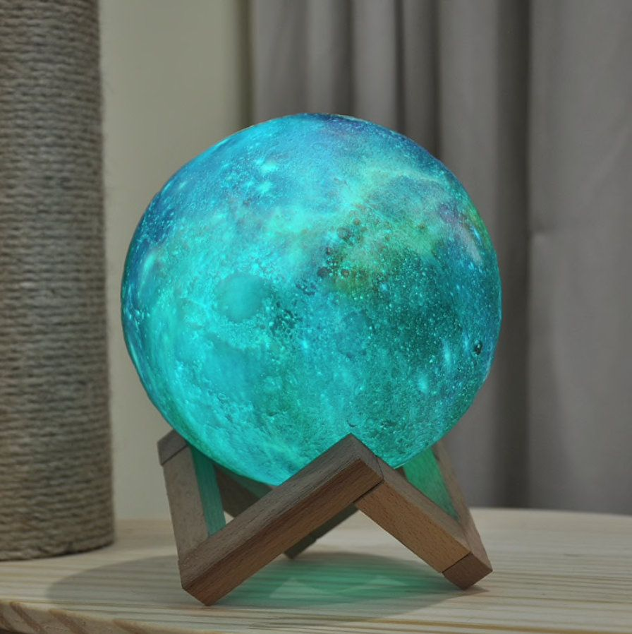 3d Print Galaxy Star Lamp 16 Colors Image 2 With Images Night Light Star Lamp Galaxy Print