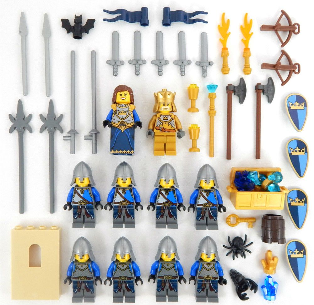 LEGO Random City Town Minifigure Lot Create Your Own Lot of 5